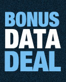 1.5GB Bonus Deal Online Only