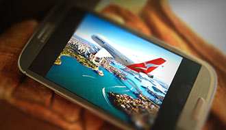 8,000 bonus Qantas Frequent Flyer points Optus Upgrade Offer